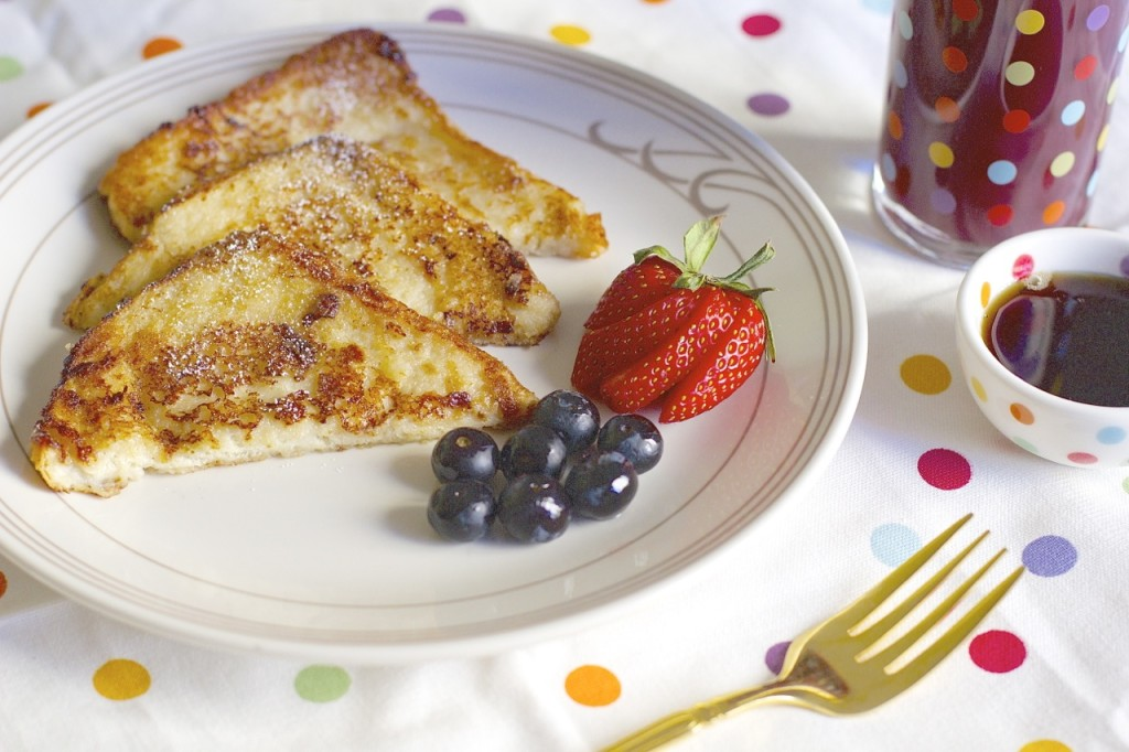 Vegan Banana French Toast