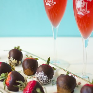 Vegan Strawberries dipped Chocolate